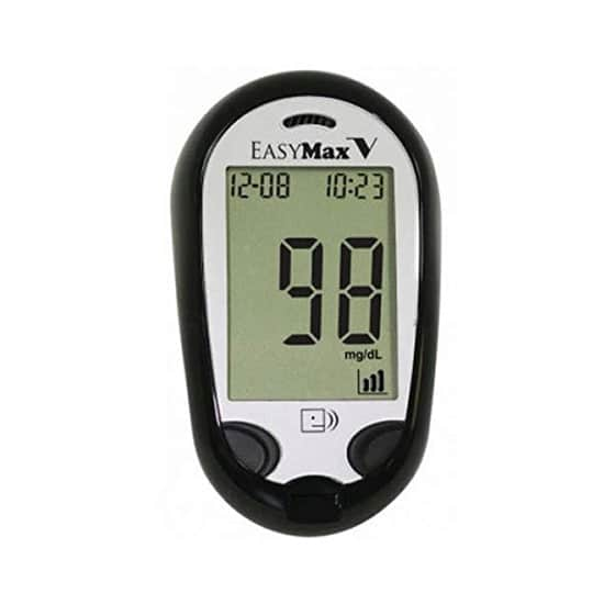 Easymax Talking Glucometer Continuous Glucose Monitor