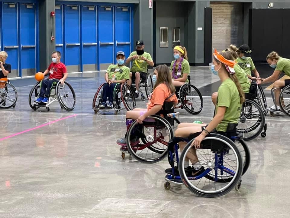 Junior Wheelchair Sports Camp at MFB